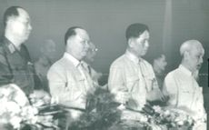 Ho Chi Minh and three conceivable successors. From left General Võ Nguyên Giáp, Tru?ng Chinh and the party leader Lê Du?n