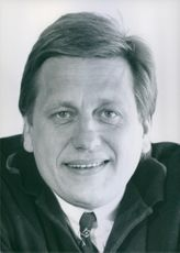 Tommy Söderberg.  is a Swedish football manager coach. Portrait.