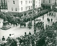 Funeral ceremony of the Lost Viscount Montgomery