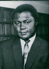 Kenya politician Tom Mboya was a Minister for Economic Planning and Development, 1968.