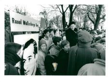 The opening of Raoul Wallenberg Square, a tab of Nybro plan.