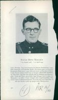 """A text about Svend Otto Nielsen """"John"""" with his picture above."""