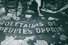 Ho chi minh's slogan during his revolution against government.