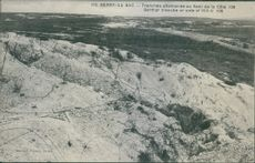 A hill and valley during World War I.