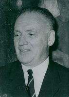Photograph of Bela Szilagyi. Deputy Foreign Minister of Hungary. Hungarian Politician.