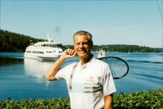 Ulf Schmidt, Sweden's most popular Davis Cup player