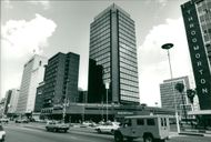 Zimbabwe Salinbury: Downtown Area of Harare