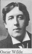 Portrait of the author Oscar Wilde