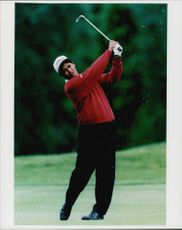 New Zealand golfer Michael Campbell.