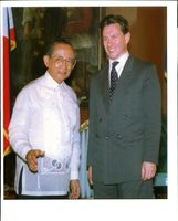 Michael Portillo and Fidel Ramos.