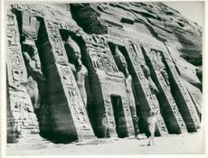 Nubian valley Egypt: abu simbel.