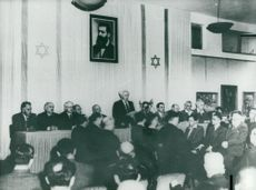 David Ben-Gurion speaks