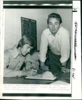 David Nish WITH derby manager.