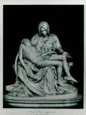 """The rally """"Pietà"""" by Michelangelo"""