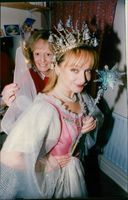 """Theatre Royal Panto 1993 on the play """"Dick Whittington"""". showing the Fairies."""