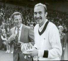 Tennis player Stan Smith along with Ulf Schmidt.