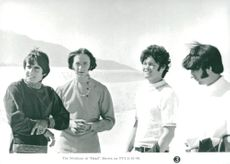 """The Monkees in the movie """"Head"""""""