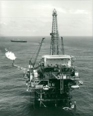 Brazil: Oil: The SM-5 Drilling Rig.