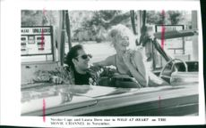 Actor Nicolas Cage and Laura Dern star in 'Wild At Heart'