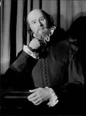 """William Shakespeare"" on Madame Tussaud's wax cabinet"