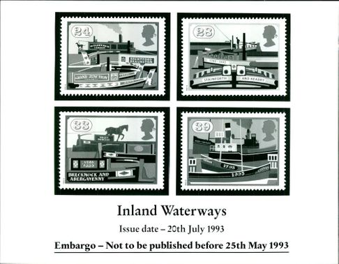 Stamps: British Commonwealth: Inland Waterways.