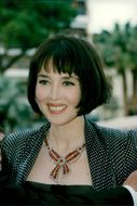 Isabelle Adjani vid filmvisningen av The Fifth Element