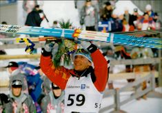 Vladimir Smirnov, who became an Olympic champion in 50 km cross country skiing