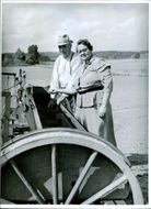 Alice Berry and Otto Jakobsson at Gryte Farm