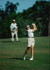 Lotta Neuman under the JC Penney Classic in the United States.