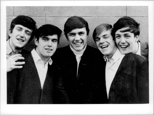 """The British pop group """"The Dave Clark Five""""."""