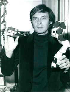 Erno Rubik, Professor of Applied Science at Budapest University