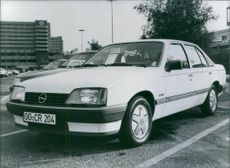 The new Opel Rekord, 1983.