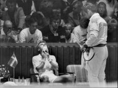 Davis Cup 1983: A tennis player recovers