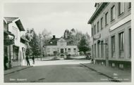 Sater. Street Lot. Postcard black and white