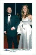 Andre Agassi and Brooke Shields at People's Choice Awards