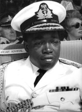 Portrait of Rear Admiral Adelanwa.