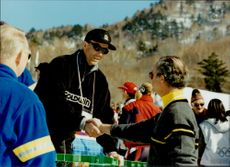 Ingemar Stenmark meets the king