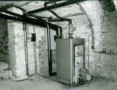Picture of a machine.  Photo taken on 1 Feb. 1966