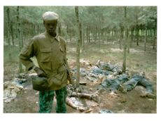 rwanda war.rebel with the rwandan patriotic front.