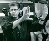 Director Robert Zemeckis in the film Contact, 1997.