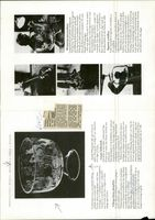 Information leaflet about Harald Wiberg's animals engraved in real Kostakristall