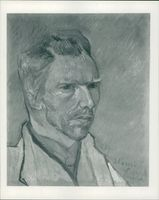 Vincent Willem van Gogh: one of the self portrait.