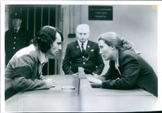 """Daniel Day-Lewis and Emma Thompson in a scene from the film """"In the Name of the Father""""."""