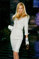 Portrait of the supermodel Karen Mulder