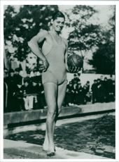 Johnny Weismuller, Actor and former Olympic Swimming Athlete
