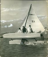 Yachting at Burnham on Crouch.