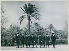 Wrens arrived in the Middle East. 1942.