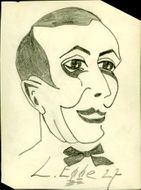 Caricature by Lars Egge