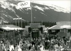 The alpine branches attracted many spectators to Nakiska.