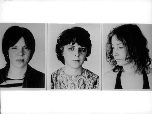 Named West German terrorists Susanne Albrecht, Silke Mayer-Witt and Sigrid Sternebeck.